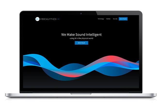 vocalytics-ai-website-on-laptop
